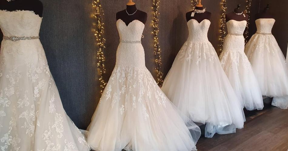 Image 3: Tiara & Tails Bridal Boutique