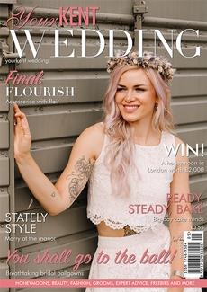 Issue 96 of Your Kent Wedding magazine