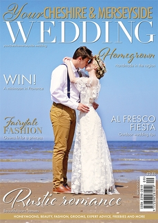 Cover of the September/October 2021 issue of Your Cheshire & Merseyside Wedding magazine