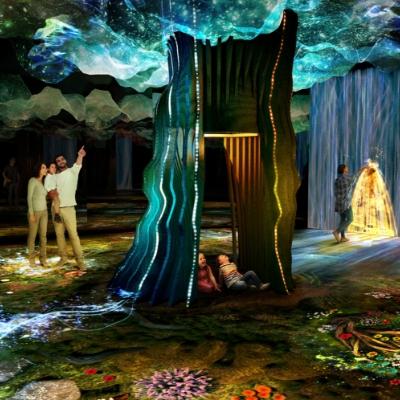 The Garden of Light illuminates McArthurGlen Designer Outlet Ashford