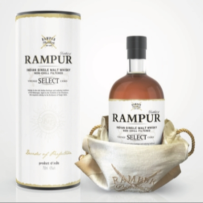 Two whiskies from India's oldest distillery are now available in the UK