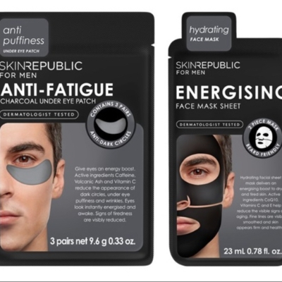 Skin Republic has launched a collection of men's face masks