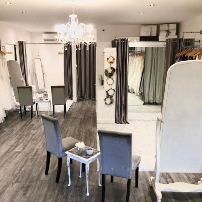Chic new look unveiled at Kent bridal boutique