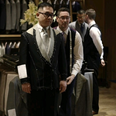 Bespoke tailoring at two of our Signature Wedding Show events