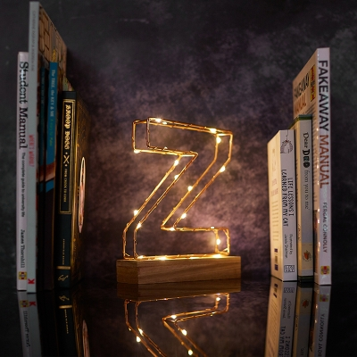 New Light Up Letters from Prezzybox for wedding decor