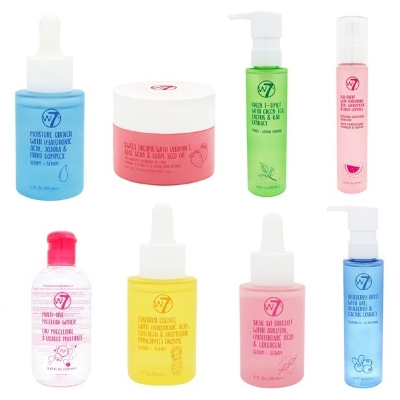 Fruity-fresh skincare from w7