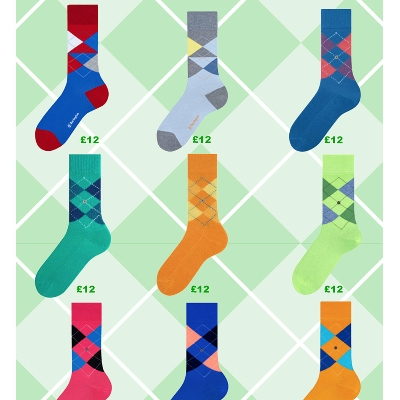 Burlington has released a new sock collection