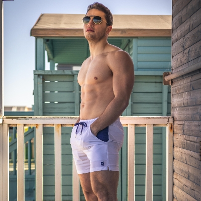 Check out Randy Cow's new collection of swimming shorts