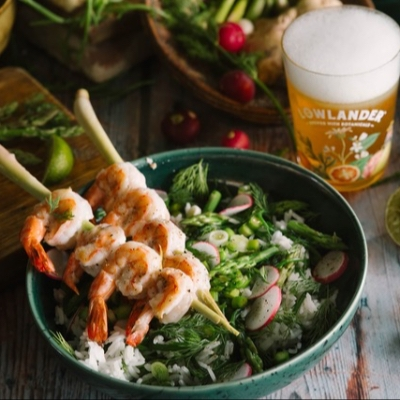 Three Botanical Beer and food pairing recipes for Father's Day