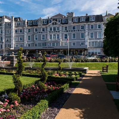 Tie the knot at Kent coastal wedding venue Hythe Imperial Hotel