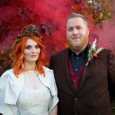 Kissed by fire - a Kent styled shoot