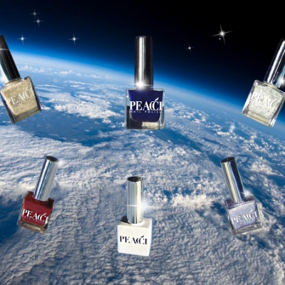 The first nail polish in space!