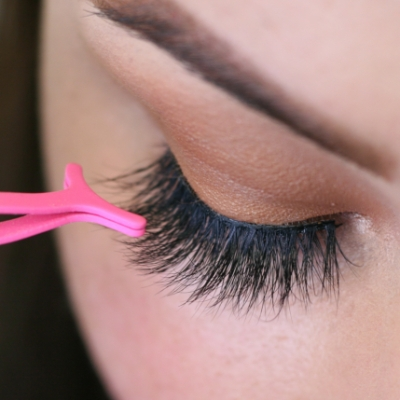 False lashes: a professional make-up artist's how to