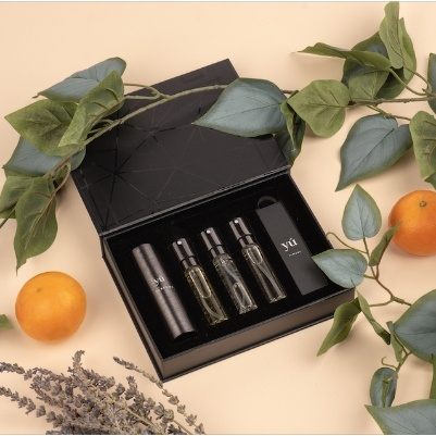The story begins with Yú Parfums
