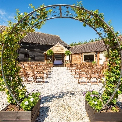 Welcome to The Apple Barn and Courtyard at Kent wedding venue The BarnYard