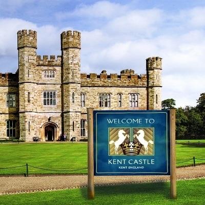 Leeds Castle fools Kent with April Fool's Day prank!