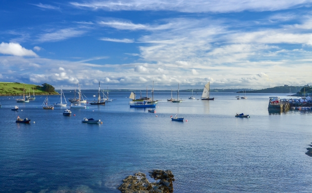 Water coast view of St Mawes