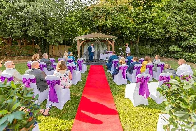 Bridgewood manor's new wedding gazebo