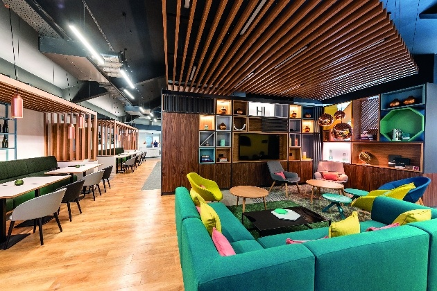 The new look lounge at Holiday Inn Dover
