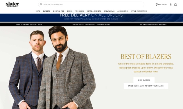 selection of models in winter tweed outfits