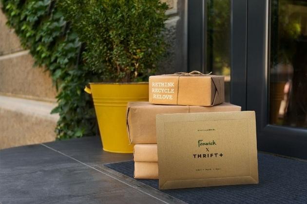 Fenwick Thrift+ packaging