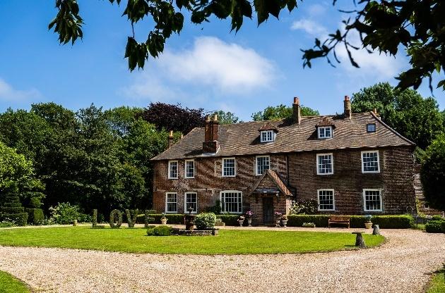 Exterior of Kent wedding venue Solton Manor in Dover