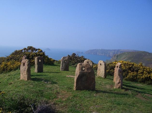stone on hillside