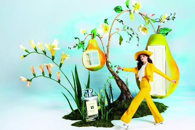 Jo Malone Pear and Freesia campaign imagery