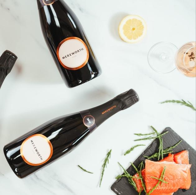 Kent's Mereworth Wines rose food pairings